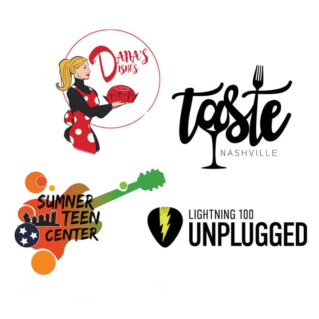 All Access Event for Graphic Design, Logos Sumner Teen Center, Lightning 100, Taste, Dana's Dishes