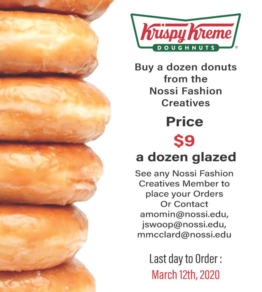 Nossi Fashion Creatives Fundraising Donut Event