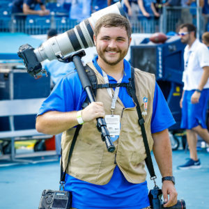 Nossi College of Art Photography Instructor, Sports Photography, Casey Gower