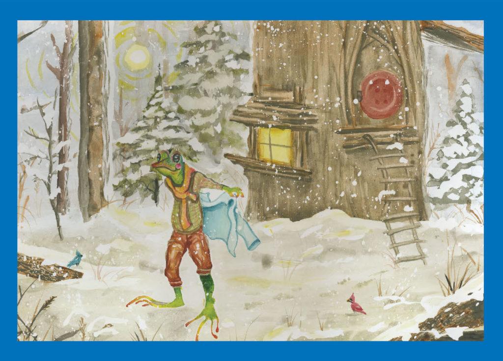 Cydnee Cothron Illustration, Holiday Card for 2020