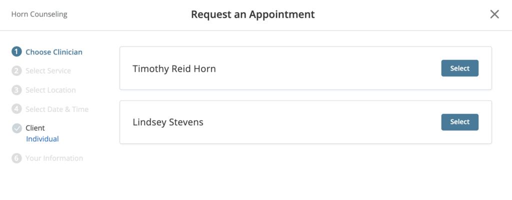 Reid Horn Counseling