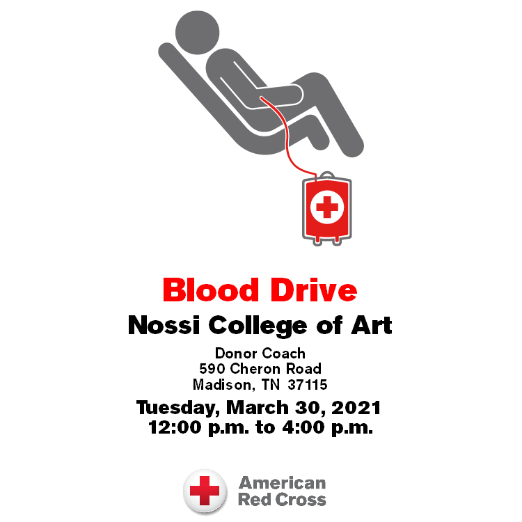 Nossi College of Art Blood Drive