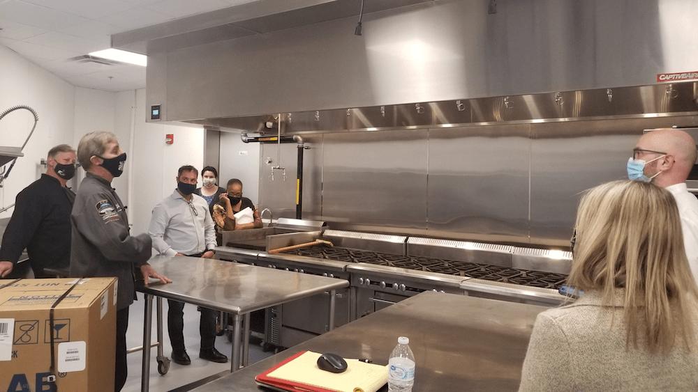 Nossi test kitchen