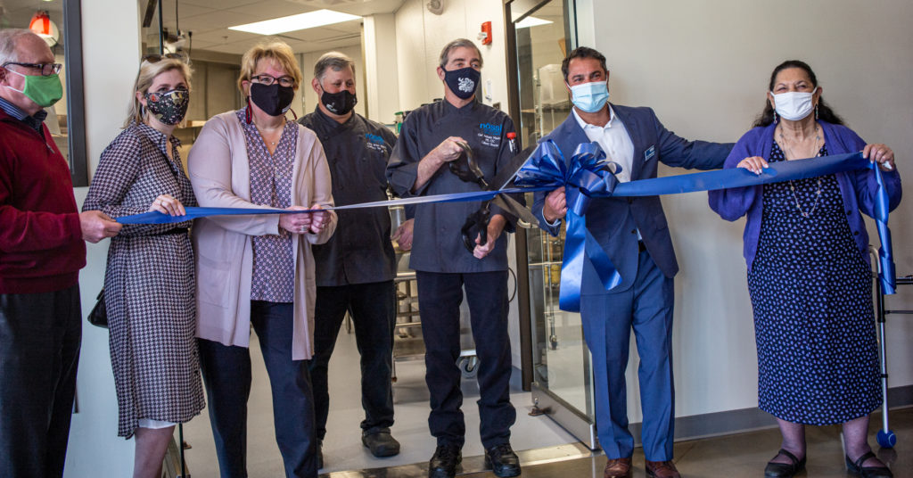 Culinary Arts Ribbon Cutting at Nossi College of Art